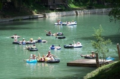 The founders of New Braunfels built the town around outdoor water activities. Consider tubing down the Comal and Guadalupe Rivers.