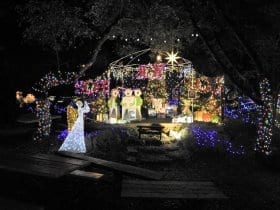 Seasonal Spirit with the Wimberley Trail of Lights at the EmilyAnn Theater